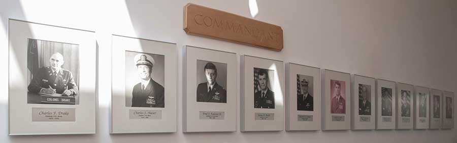 Former Commandants of the NSO