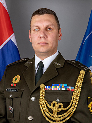 Command Sergeant Major Miroslav Dulaj