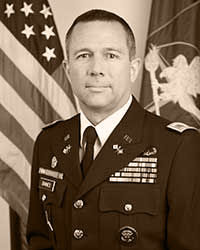 Colonel Mark D. Baines, USA-A